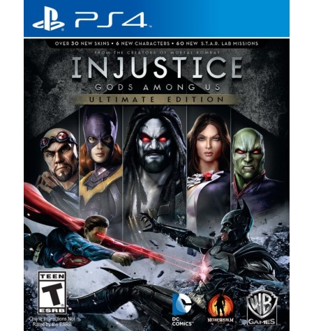 Injustice Gods Among Us: Ultimate Edition - PS4
