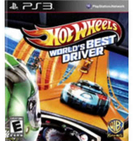 Hot Wheels World's Best Driver - PS3