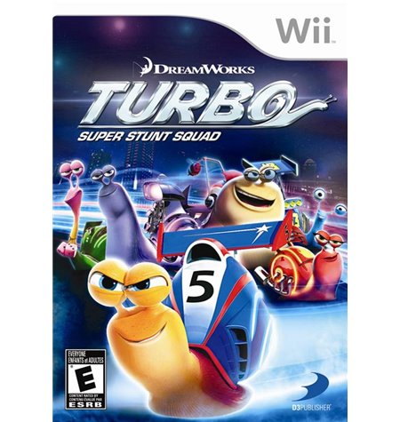 Turbo Super Stunt Squad - Wii