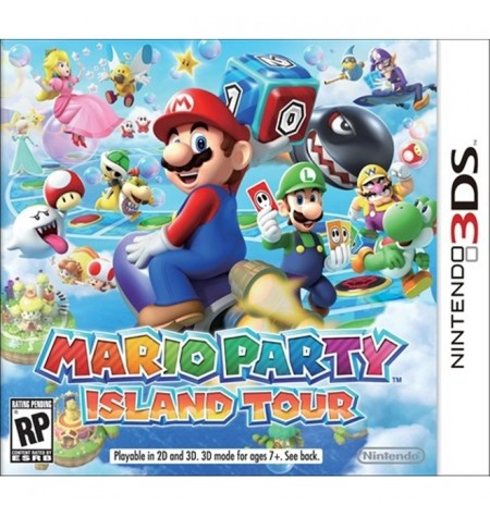 Mario Party: Island Tour - 3DS