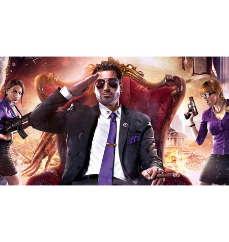 Saints Row IV Re-Elected + Gat Out Of Hell - Primeira Edição - Xbox One