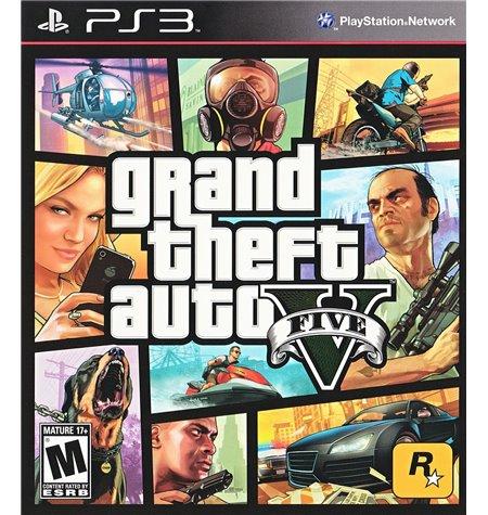 Gran Theft Auto V - PS3
