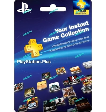 Assinatura PSN Plus (12 Meses) - PS4