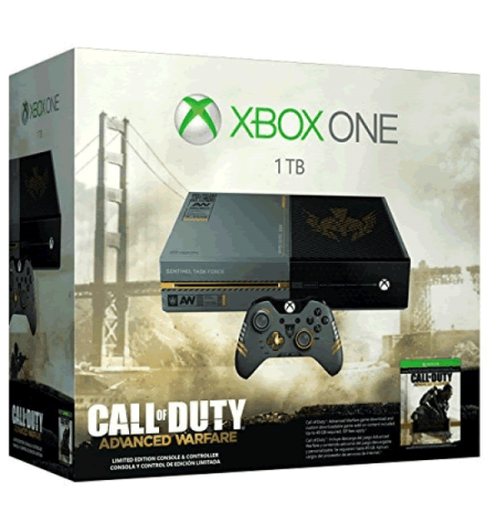 Xbox One (1TB) Edição Especial - Advanced Warfare - Xbox One