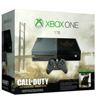 Xbox One (1TB) Edição Especial - Advanced Warfare + Xbox Live Gold 12 Meses - Xbox One